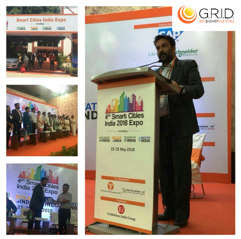 G.R.I.D. presented at Smart Village Conclave 2018