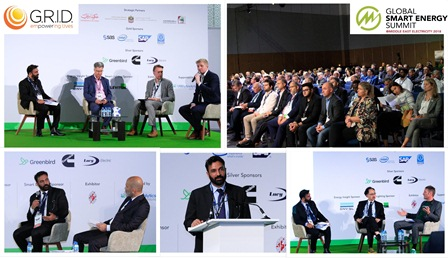 G.R.I.D. Presented at Global Smart Energy Summit 2018 in Dubai