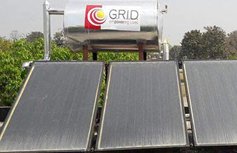 Go green with Solar Water Heaters